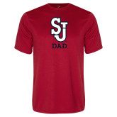 Syntrel Performance Red Tee-Dad