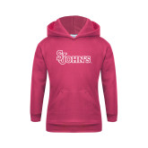 Youth Raspberry Fleece Hoodie-St Johns