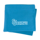 Light Blue Sweatshirt Blanket-St Johns
