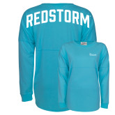 Turquoise Game Day Jersey Tee-St Johns