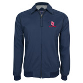 Navy Players Jacket-SJ Redstorm Stacked