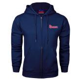 Navy Fleece Full Zip Hoodie-St Johns