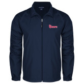 Full Zip Navy Wind Jacket-St Johns