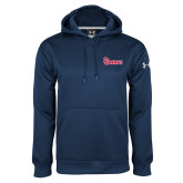 Under Armour Navy Performance Sweats Team Hoodie-St Johns