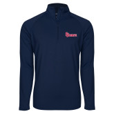 Sport Wick Stretch Navy 1/2 Zip Pullover-St Johns