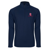 Sport Wick Stretch Navy 1/2 Zip Pullover-SJ Redstorm Stacked