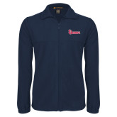 Fleece Full Zip Navy Jacket-St Johns
