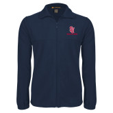 Fleece Full Zip Navy Jacket-SJ Redstorm Stacked