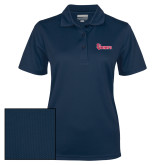 Ladies Navy Dry Mesh Polo-St Johns