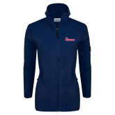 Columbia Ladies Full Zip Navy Fleece Jacket-St Johns