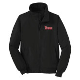 Black Charger Jacket-St Johns Red Storm