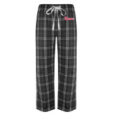 Black/Grey Flannel Pajama Pant-St Johns