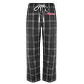 Black/Grey Flannel Pajama Pant-St Johns