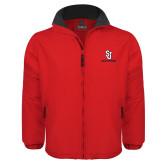 Red Survivor Jacket-SJ Redstorm Stacked