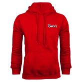Red Fleece Hoodie-St Johns