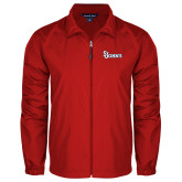 Full Zip Red Wind Jacket-St Johns