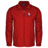 Full Zip Red Wind Jacket-SJ Redstorm Stacked