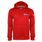 Under Armour Red Performance Sweats Team Hoodie-St Johns