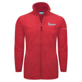 Columbia Full Zip Red Fleece Jacket-St Johns