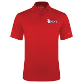 Columbia Red Omni Wick Round One Polo-St Johns