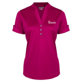 Ladies Ogio Deep Berry Fashion Henley-St Johns