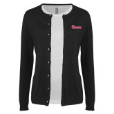 Ladies Black Cardigan-St Johns