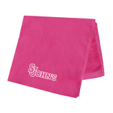 Pink Beach Towel-St Johns