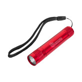 Pluto Red Slim Flashlight-St Johns Engraved