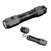 Heavy Duty Black Flashlight/Emergency Tool-SJ Engraved