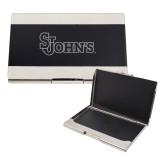 Bey Berk Carbon Fiber Business Card Holder-St Johns Engraved