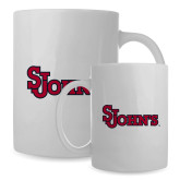 Full Color White Mug 15oz-St Johns