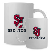 Full Color White Mug 15oz-SJ Redstorm Stacked