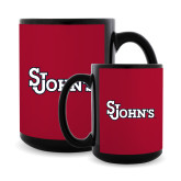 Full Color Black Mug 15oz-St Johns