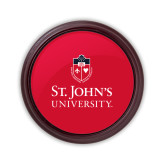 Round Coaster Frame w/Insert-University Mark Stacked