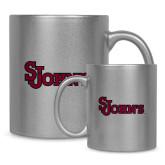11oz Silver Metallic Ceramic Mug-St Johns