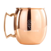 Copper Mug 16oz-SJ Redstorm Stacked Engraved
