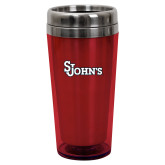 Solano Acrylic Red Tumbler 16oz-St Johns