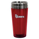 Solano Acrylic Red Tumbler 16oz-St Johns