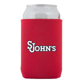 Collapsible Red Can Holder-St Johns