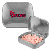 Silver Rectangular Peppermint Tin-St Johns