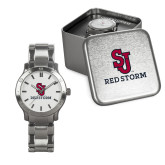 Mens Stainless Steel Fashion Watch-SJ Redstorm Stacked