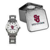 Ladies Stainless Steel Fashion Watch-SJ Redstorm Stacked