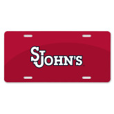 License Plate-St Johns