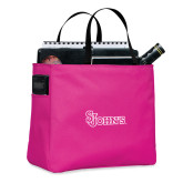 Tropical Pink Essential Tote-St Johns