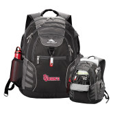 High Sierra Big Wig Black Compu Backpack-St Johns