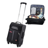 Wenger 4 Wheeled Spinner Black Carry On-St Johns