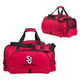 Challenger Team Red Sport Bag-SJ Redstorm Stacked