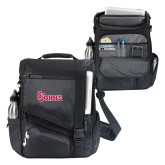 Momentum Black Computer Messenger Bag-St Johns