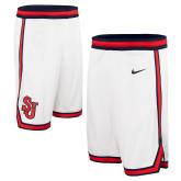 NIKE Replica White Rio Basketball Shorts-