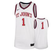 NIKE Replica  White Rio Basketball Jersey-